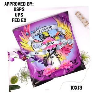 20 (10X13) Poly Mailers - Recovery Tattoo